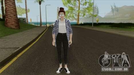 Mai Shiranui Korean Style v3 para GTA San Andreas segunda tela