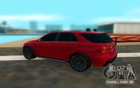 Mercedes Benz GLE 63 para GTA San Andreas