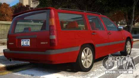 Volvo 850R para GTA 4 vista direita