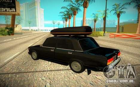 Dois mil e cem sete para GTA San Andreas