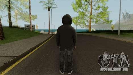 Space Monkey Street Artist From GTA V para GTA San Andreas