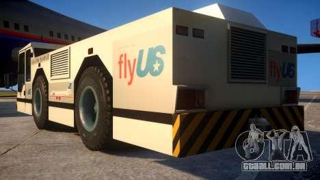 Upgraded Airport Truck para GTA 4