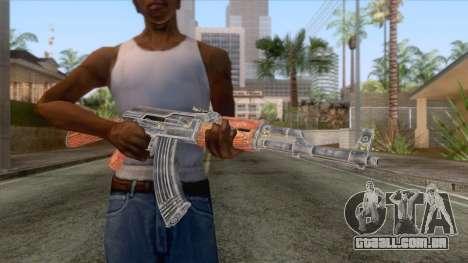 AK-47 Assault Rifle HQ para GTA San Andreas