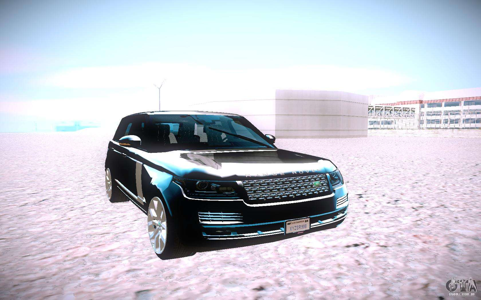 land rover range rover supercharged para gta san andreas. Black Bedroom Furniture Sets. Home Design Ideas