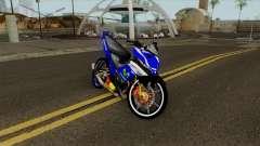 Yamaha 135LC V4 Movistar Singel Arm Pojet By Can para GTA San Andreas