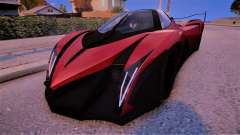 2013 Devel Sixteen Prototype para GTA 4