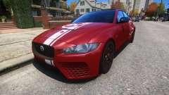 Jaguar XE SV Project 8 2017 v1.0 para GTA 4