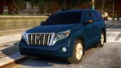 Toyota Land Cruiser Prado 150 2016 para GTA 4