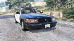 Ford Crown Victoria LAPD CVPI v3.0 [replace] para GTA 5