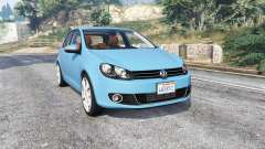 Volkswagen Golf (Typ 5K) v2.1 [replace] para GTA 5