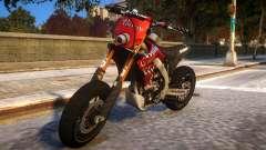 Kawasaki KX 450 F para GTA 4