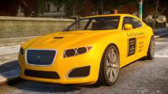 Lampadati Felon Taxi para GTA 4