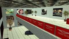 A concessionária QMGS V2 para GTA San Andreas