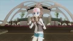 Pokemon Black & White - Hilda para GTA San Andreas
