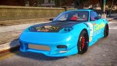 Mazda RX-7 KJC para GTA 4