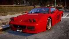 ViP Ferrari 512 para GTA 4