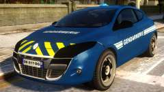 Renault Megane Gendarmerie para GTA 4