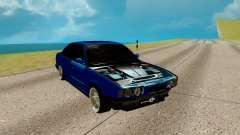 BMW M5 E34 azul para GTA San Andreas