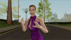 Zoe Nightshade from Nightfire para GTA San Andreas