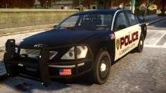 Pinnacle Police (LCPD) 1.0 para GTA 4