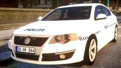 Volkswagen Passat Danish Police para GTA 4