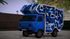UAZ 39094 Casa sobre rodas para GTA San Andreas