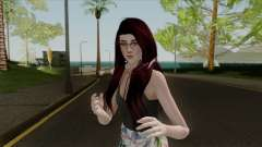 Samantha Casual v3 Sims 4 Custom para GTA San Andreas