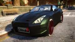 Nissan GTR Fast and Furious Movie car