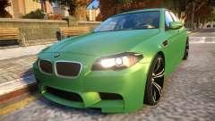 BMW M5-series F10 Azerbaijan style para GTA 4