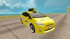 Toyota Prius amarelo para GTA San Andreas