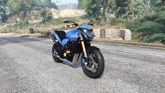 Honda CB 600F Hornet 2013 [replace] para GTA 5