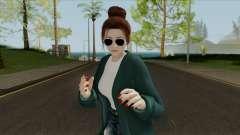 Mai Shiranui Korean Style v4 para GTA San Andreas