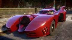 1992 Batmobile Movie Car Mod para GTA 4