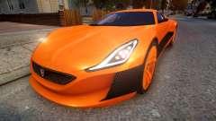 2016 Rimac Concept One para GTA 4