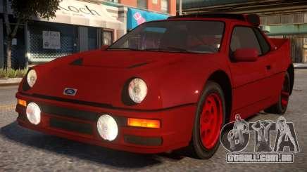 Ford RS200 para GTA 4
