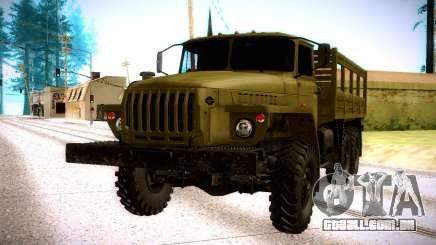 Ural 4320 Oliva para GTA San Andreas