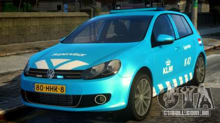 Volkswagen Golf Supervisor KLM para GTA 4