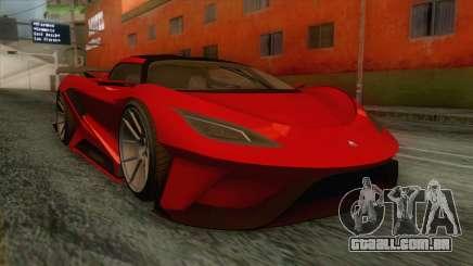 GTA 5 - Overflod Tyrant IVF para GTA San Andreas