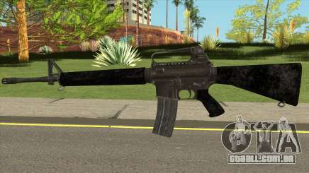 PUBG M16 para GTA San Andreas