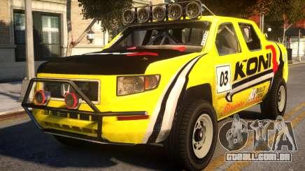 Honda Ridgeline Koni para GTA 4