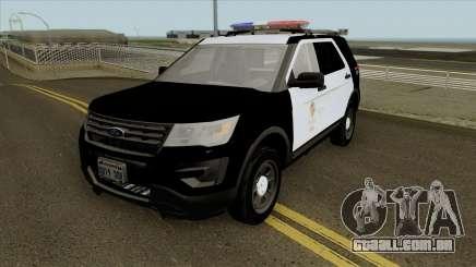 Ford Police Interceptor Utility LSPD 2016 para GTA San Andreas