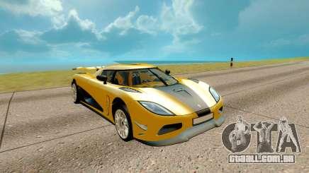 Koenigsegg Regera para GTA San Andreas