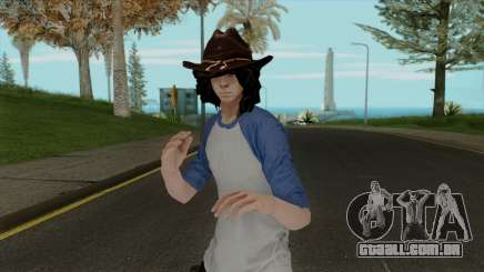 Carl Grimes from The Walking Dead para GTA San Andreas