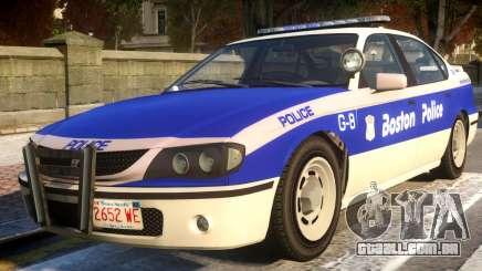 Declasse Merit Boston Police Department para GTA 4