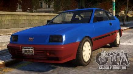 Vintage Blista para GTA 4