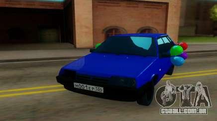 VAZ 21099 azul para GTA San Andreas