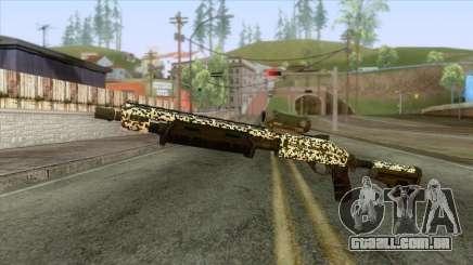 The Doomsday Heist - Shotgun v1 para GTA San Andreas