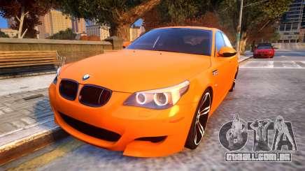 BMW M5 E60 Davidic Memory update 1.2 para GTA 4