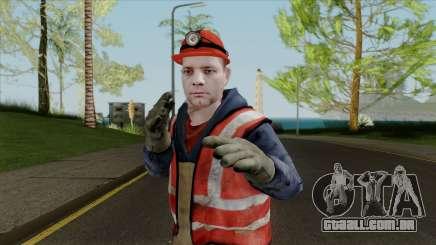 Pele nova de trabalho para GTA San Andreas