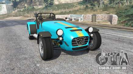Caterham Seven 620 R 2013 v1.6 [replace] para GTA 5